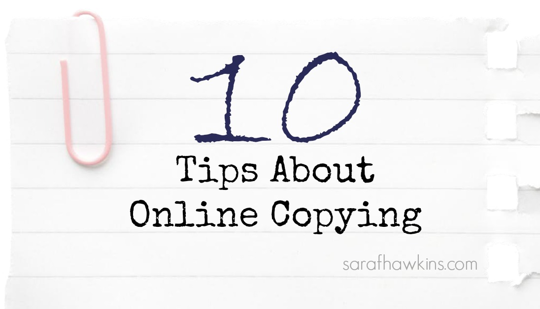 Ten tips about Online Copying