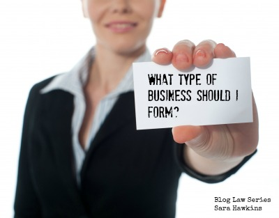 """What Form of Business Entity is Best For Me?"" – The ..."