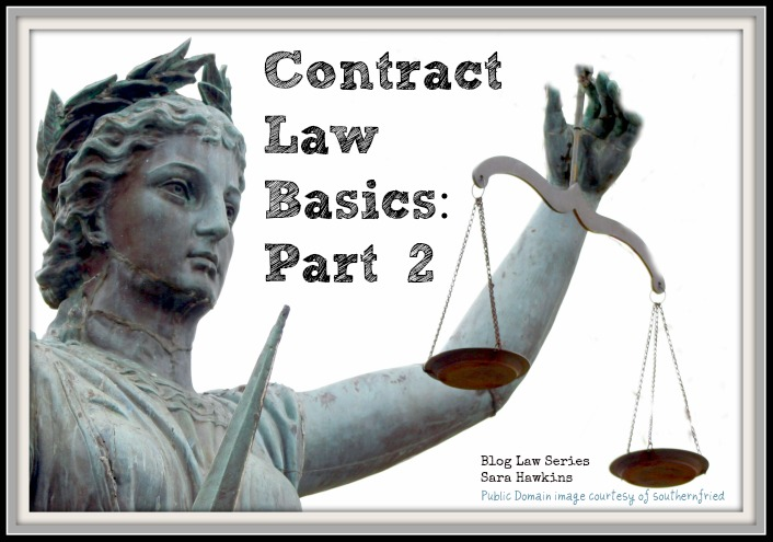Contract Law Basics Part Two
