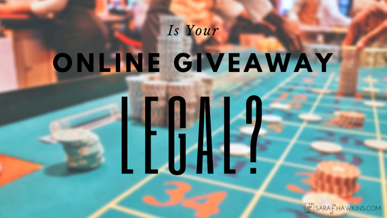 Is your online giveaway legal?