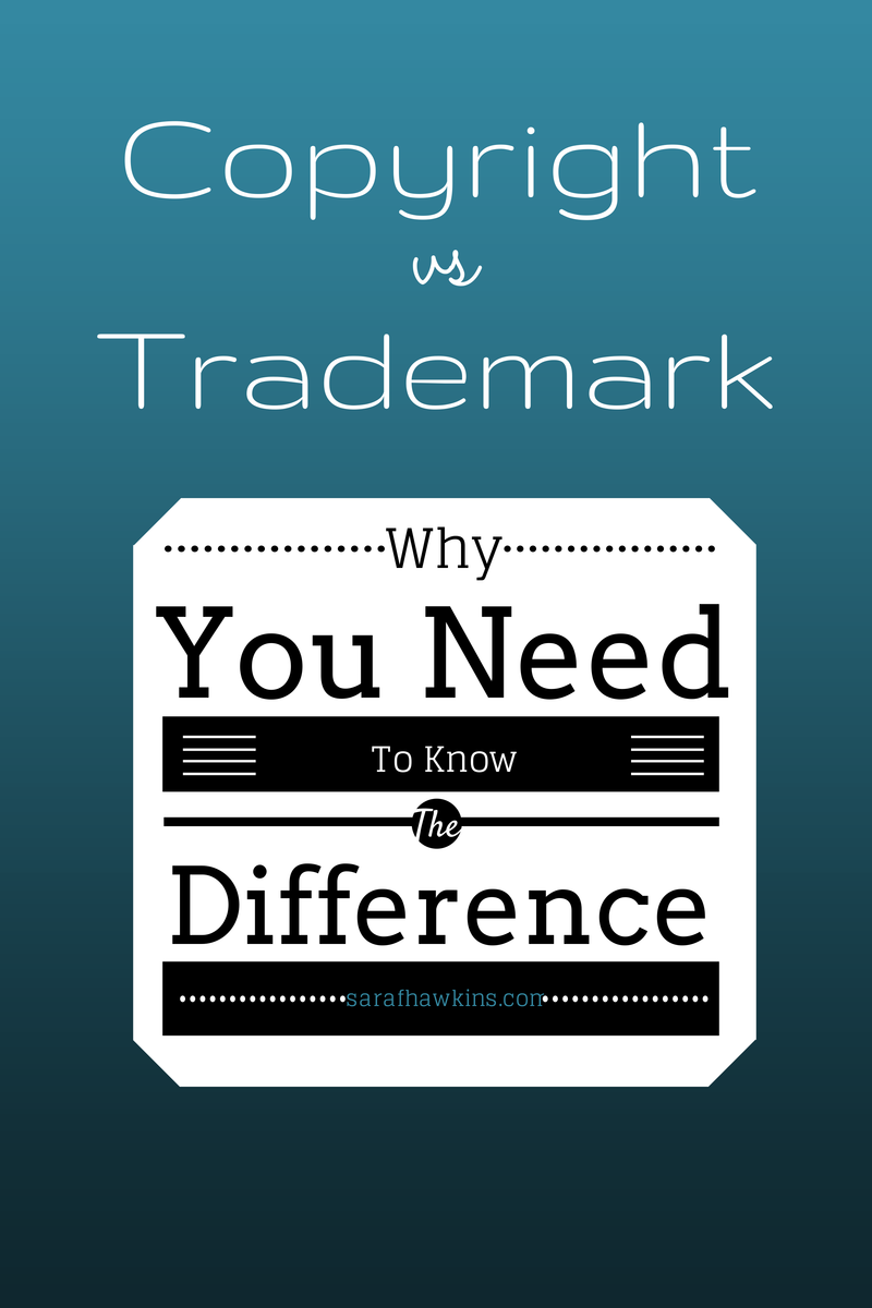 Trademark or Copyright laws