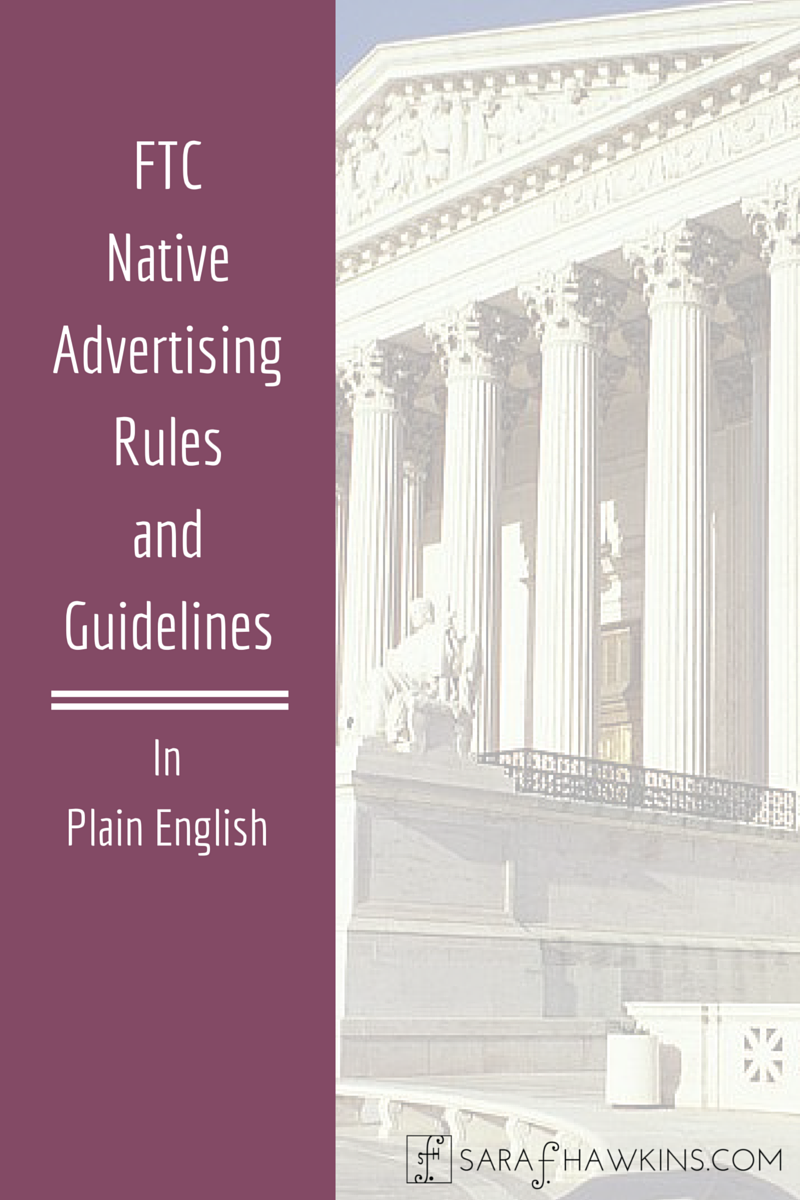 Native Advertising Rules and Guidelines in Plain English