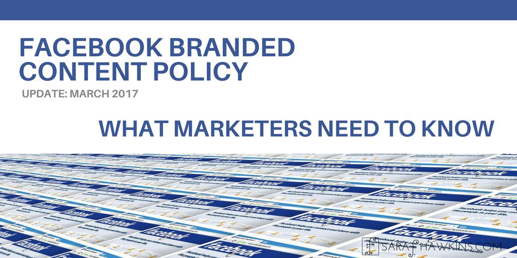 Update Facebook Branded Content