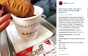 Delta Instagram Repost Consent
