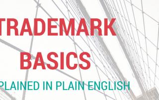 trademark basics explained in plain English